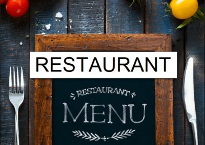 Restaurant Blog